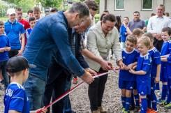 Oficjalnego otwarcia nowej infrastruktury rekreacyjnej w budynku klubowym WKS Żarek w Barwałdzie Górnym - 27 maja 2019 r. - fot. Andrzej Famielec IMGP8444_