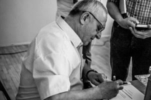 """Promocja Książki """"Zamek Barwałd – historia i legenda, ludzie i wydarzenia"""" - 14 czerwca 2019 r. - fot. Andrzej Famielec IMGP0120"""