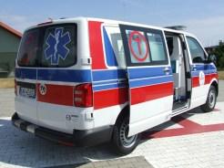 Nowa karetka transportowa dla ZZOZ w Wadowicach - fot. materiały prasowe