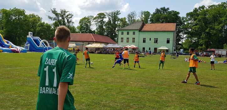 """Turniej WKS """"Żarek"""" Barwałd Górny - mat. prasowe"""