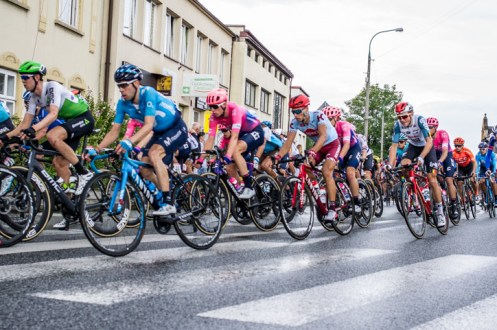 76. Tour de Pologne - 3 sierpnia 2019 r. Kalwaria Zebrzydowska - fot. Andrzej Famielec - Kalwaria 24IMGP2329