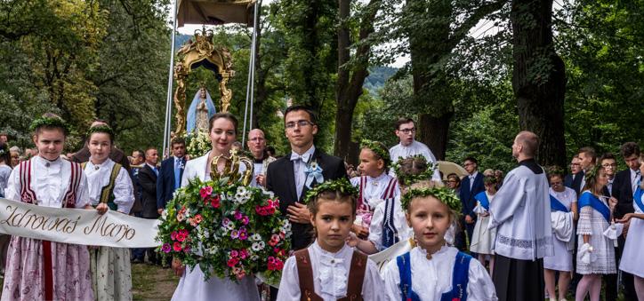 Uroczystości Wniebowzięcia NMP - 18 sierpnia 2019 r. - fot. Andrzej Famielec - Kalwaria 24 IMGP4102-Pano