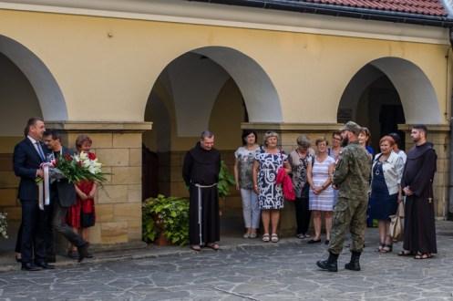 Uroczystości przeddzień 75. rocznicy Powstania Warszawskiego - 31 lipca 2019 r. Kalwaria Zebrzydowska IMGP2232