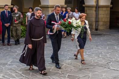 Uroczystości przeddzień 75. rocznicy Powstania Warszawskiego - 31 lipca 2019 r. Kalwaria Zebrzydowska IMGP2240