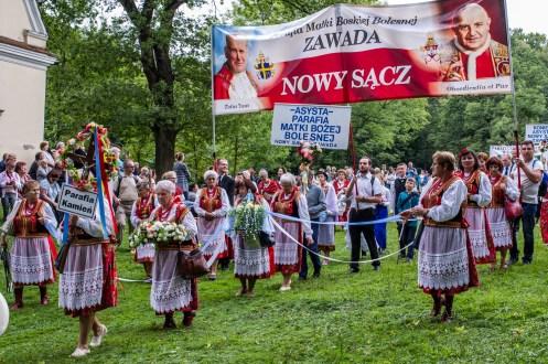 Uroczystości zaśnięcia NMP - Kalwaria Zebrzydowska - 16 sierpnia 2019 r. - fot. Andrzej Famielec - Kalwaria 24 IMGP3255
