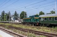 Wizyta pociągu retro w Kalwarii Zebrzydowskiej - 26 sierpnia 2019 r. - fot. Andrzej Famielec - Kalwaria 24 IMGP5152