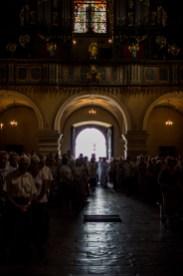 procesja Boleści NMP z bazyliki do Domku Matki Bożej - Kalwaria Zebrzydowska - 11 sierpnia 2019 r. - fot. Andrzej Famielec - Kalwaria 24 IMGP2589