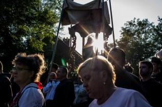 procesja Boleści NMP z bazyliki do Domku Matki Bożej - Kalwaria Zebrzydowska - 11 sierpnia 2019 r. - fot. Andrzej Famielec - Kalwaria 24 IMGP3004