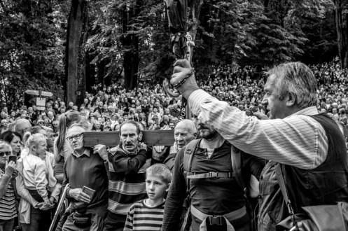 Pielgrzymka Rodzin Archidiecezji Krakowskiej do Sanktuarium Kalwaryjskiego - 8 września 2019 r. - fot. Andrzej Famielec - Kalwaria 24 IMGP5973
