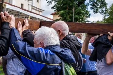 Pielgrzymka Rodzin Archidiecezji Krakowskiej do Sanktuarium Kalwaryjskiego - 8 września 2019 r. - fot. Andrzej Famielec - Kalwaria 24 IMGP5979