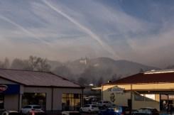 Poranny smog w Kalwarii - 8 listopada 2019 r. - fot. Kalwaria 24