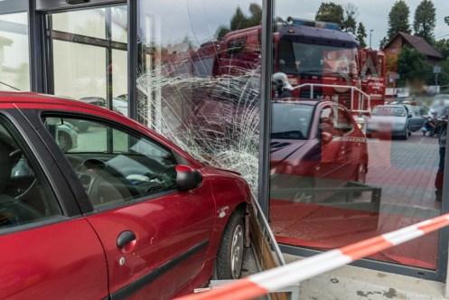 Nieszczęśliwy wypadek obok biedronki - 9 lipca 2020 - fot. Andrzej Famielec - Kalwaria 24 {Filename»}00992