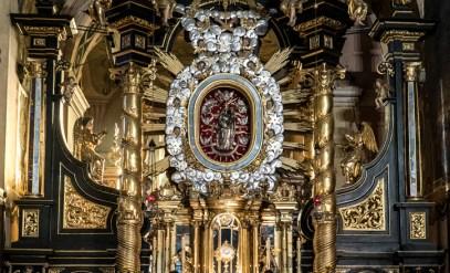 Odpust Matki Bożej Anielskiej - 1 sierpnia 2020 r. Sanktuarium Pasyjno Maryjne w Kalwarii Zebrzydowskiej - fot. Andrzej Famielec - Kalwaria 24 -02557-2