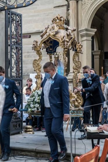 Procesja Wniebowzięcia NMP - 16 sierpnia 2020 r. - fot. Andrzej Famielec - Kalwaria 24-04493