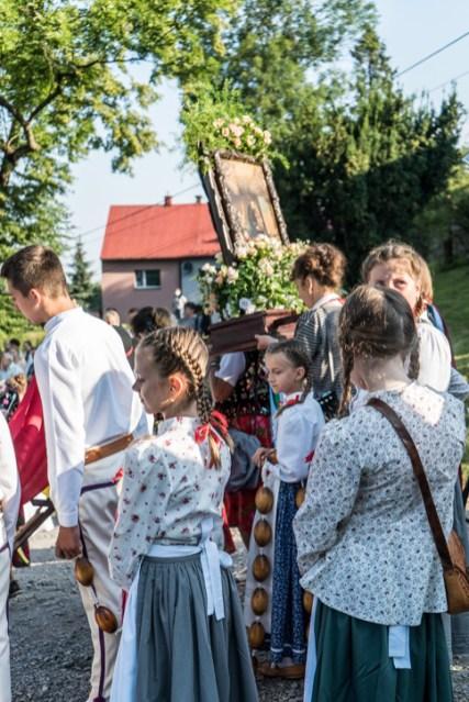 Procesja Wniebowzięcia NMP - 16 sierpnia 2020 r. - fot. Andrzej Famielec - Kalwaria 24-04605