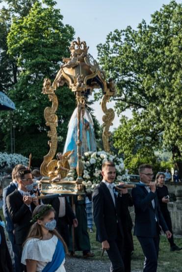 Procesja Wniebowzięcia NMP - 16 sierpnia 2020 r. - fot. Andrzej Famielec - Kalwaria 24-04629