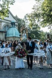 Procesja Wniebowzięcia NMP - 16 sierpnia 2020 r. - fot. Andrzej Famielec - Kalwaria 24-04635