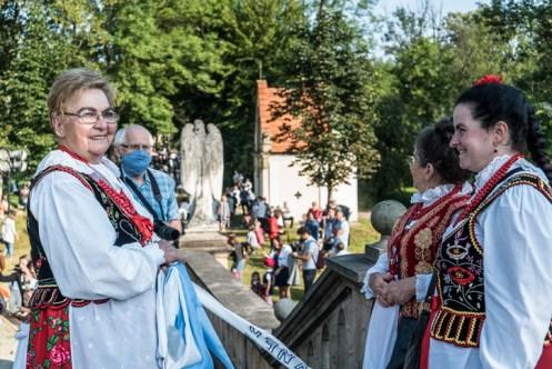 Procesja Wniebowzięcia NMP - 16 sierpnia 2020 r. - fot. Andrzej Famielec - Kalwaria 24-04689