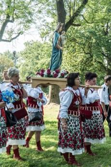 Procesja Wniebowzięcia NMP - 16 sierpnia 2020 r. - fot. Andrzej Famielec - Kalwaria 24-04780