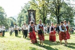 Procesja Wniebowzięcia NMP - 16 sierpnia 2020 r. - fot. Andrzej Famielec - Kalwaria 24-04886