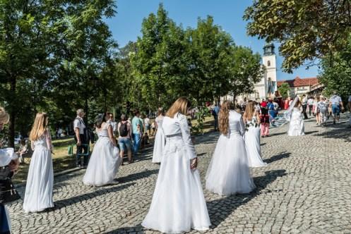 Procesja Wniebowzięcia NMP - 16 sierpnia 2020 r. - fot. Andrzej Famielec - Kalwaria 24-05065