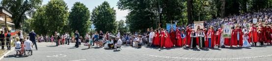 Procesja Wniebowzięcia NMP - 16 sierpnia 2020 r. - fot. Andrzej Famielec - Kalwaria 24-05190