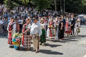 Procesja Wniebowzięcia NMP - 16 sierpnia 2020 r. - fot. Andrzej Famielec - Kalwaria 24-05236