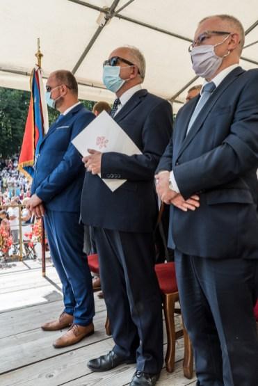 Procesja Wniebowzięcia NMP - 16 sierpnia 2020 r. - fot. Andrzej Famielec - Kalwaria 24-05356