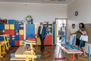 Rekonesans szkół podstawowych - 27 sierpnia 2020 r. - fot. Andrzej Famielec - Kalwaria 24-06082