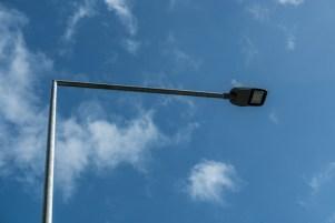 Odbiór nowego oświetlenia LED wdłuż drogi krajowej DK52 - 18 września 2020 r. - fot. Andrzej Famielec - Kalwaria 24-07658