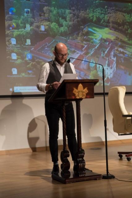 Sympozjum poświęcone Mikołajowi Zebrzydowskiemu - 24 października 2020 r.- fot. Andrzej Famielec - Kalwaria 24-09172