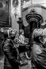 Wpowadzenie relikwii bł. Hanny Chrzanowskiej do Sanktuarium Kalwaryjskiego - 7 października 2020 r.- fot. Andrzej Famielec - Kalwaria 24-08615-2