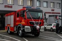 Przekazanie wozu bojowego OSP w Kalwarii Zebrzydowskiej - 3 listopada 2020 r.- fot. Andrzej Famielec - Kalwaria 24-09437