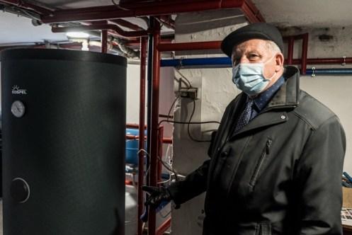 Rekonesans z wymiany pieca na gazowy - 17 grudnia 2020 r.- fot. Andrzej Famielec - Kalwaria 24-00190