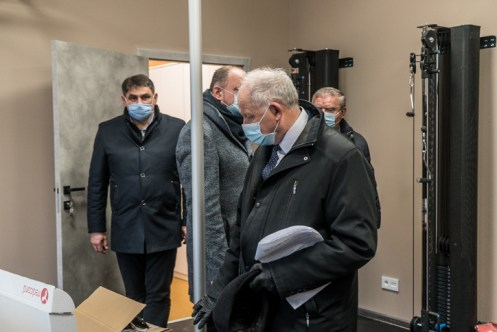 Obiór Środowiskowego Domu Samopomocy - Kalwaria Zebrzydowska 23 grudnia 2020 r.- fot. Andrzej Famielec - Kalwaria 24-2
