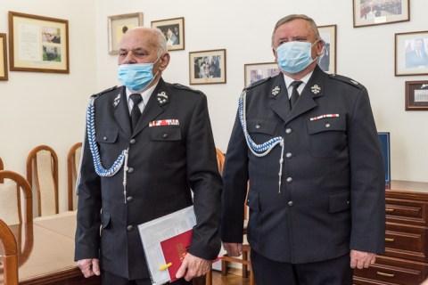 Święto Strażaków - 4 maja 2021 r. - fot. Andrzej Famielec - Kalwaria 24-03098