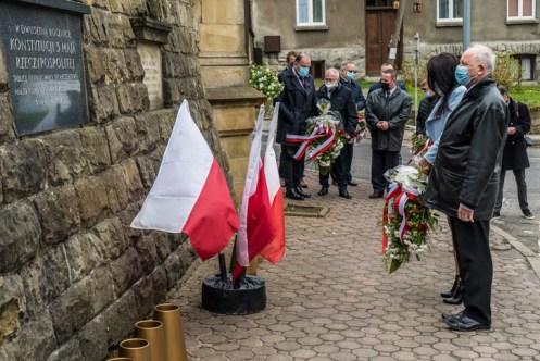 Uroczystości Święta Konstytucji 3 Maja w Kalwarii Zebrzydowskiej 2021 r. - fot. Andrzej Famielec - Kalwaria 24-02907