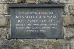 Uroczystości Święta Konstytucji 3 Maja w Kalwarii Zebrzydowskiej 2021 r. - fot. Andrzej Famielec - Kalwaria 24-02961