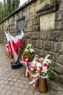 Uroczystości Święta Konstytucji 3 Maja w Kalwarii Zebrzydowskiej 2021 r. - fot. Andrzej Famielec - Kalwaria 24-02965