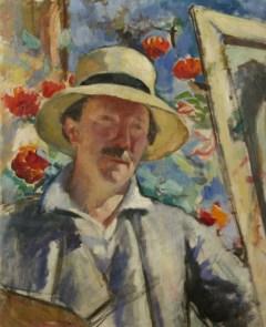 Autoportret w kapeluszu, 1926