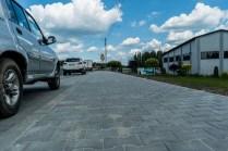 Oddano nowe zatoki autobusowe w Brodach na krajówce - 11 czerwca 2021 r. - fot. Andrzej Famielec   Kalwaria 24