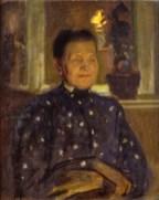 Portret matki, ok. 1908