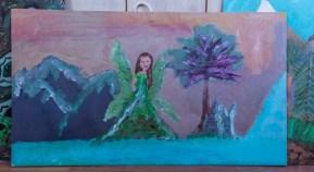 Zielony Anioł w Lanckoronie - Wystawa prac uczniów z -Werandy Anieli- podcas -Spotkania w Stodole--04390