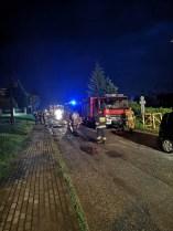 Gmina Kalwaria Zebrzydowska ucierpiała w nocnej nawałnicy, ewakuowano mieszkańców - fot. Marcin Zadora | facebook