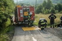 Gminne ćwiczenia OSP - 13 lipca 2021 r. - fot. Andrzej Famielec - Kalwaria 24-06836