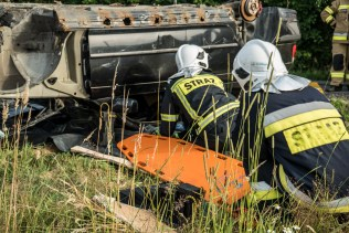 Gminne ćwiczenia OSP - 13 lipca 2021 r. - fot. Andrzej Famielec - Kalwaria 24-06844