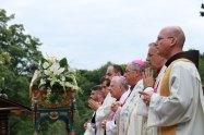 Procesja Zaśnięcia Matki Bożej w Kalwaryjskim Sanktuarium - 20 sierpnia 2021 r. - Fot. o. Franciszek Salezy Nowak OFM   Biuro Prasowe Sanktuarium