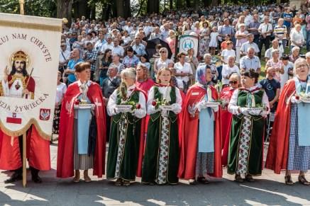 Uroczystości Wniebowzięcia NMP w Kalwaryjskim Sanktuarium - 22 sierpnia 2021 r. - fot. Andrzej Famielec - Kalwaria 24-00329