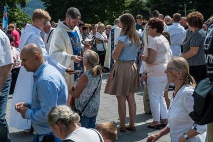 Uroczystości Wniebowzięcia NMP w Kalwaryjskim Sanktuarium - 22 sierpnia 2021 r. - fot. Andrzej Famielec - Kalwaria 24-00520