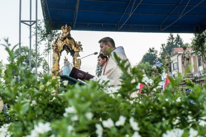 Uroczystości Wniebowzięcia NMP w Kalwaryjskim Sanktuarium - 22 sierpnia 2021 r. - fot. Andrzej Famielec - Kalwaria 24-09736